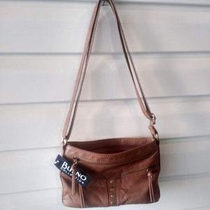 🔥NWT! Bueno Leather Equestrian Shoulder Bag 🔥
